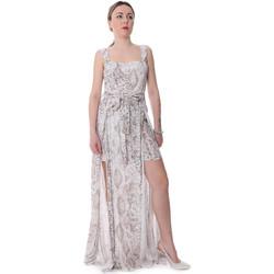 textil Dame Buksedragter / Overalls Fracomina FR20SP506 Beige