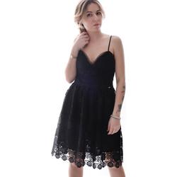 textil Dame Korte kjoler Fracomina FR20SP531 Sort
