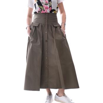 textil Dame Nederdele Fracomina FR20SP133 Grøn