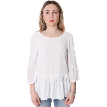 textil Dame Toppe / Bluser Fracomina FR20SP040 hvid