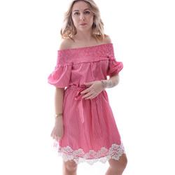 textil Dame Korte kjoler Fracomina FR20SP526 Rød