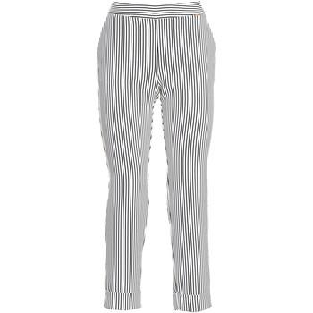 textil Dame Chinos / Gulerodsbukser Fracomina FR20SP163 Sort