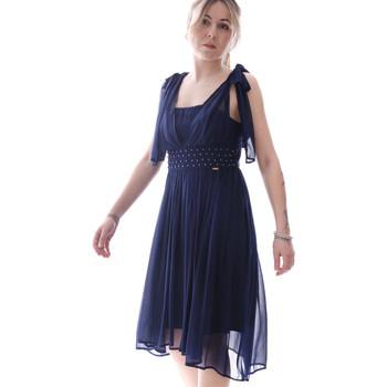 textil Dame Korte kjoler Fracomina FR20SP599 Blå