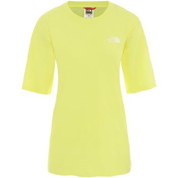 textil Dame T-shirts m. korte ærmer The North Face NF0A4CESVC51 Gul