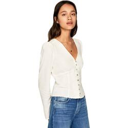 textil Dame Skjorter / Skjortebluser Pepe jeans PL303664 Beige