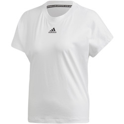 textil Dame T-shirts m. korte ærmer adidas Originals FL4167 hvid