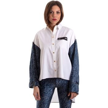 textil Dame Skjorter / Skjortebluser Versace B0HVB606S0683904 hvid