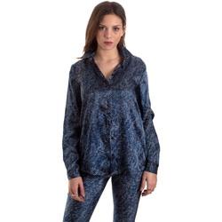 textil Dame Skjorter / Skjortebluser Versace B0HVB601S0683904 Blå