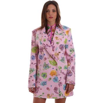 textil Dame Jakker / Blazere Versace C2HVB507SN75SK69 Lyserød
