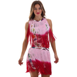 textil Dame Korte kjoler Versace D2HVB406S0777K67 hvid