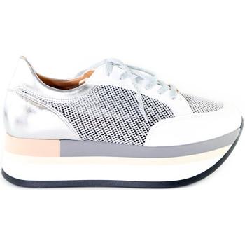 Sko Dame Lave sneakers Grace Shoes 331009 Sølv