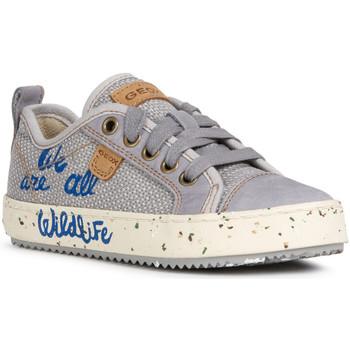 Sko Børn Lave sneakers Geox J022CG 010CL Grå