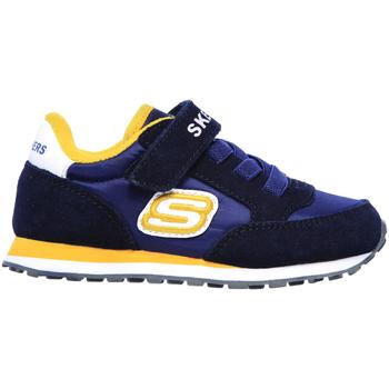 Sko Børn Lave sneakers Skechers 97366N Blå
