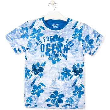 textil Dreng T-shirts m. korte ærmer Losan 013-1003AL Blå
