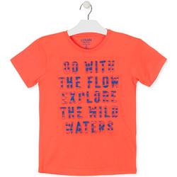 textil Dreng T-shirts m. korte ærmer Losan 013-1005AL Orange