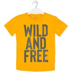 textil Børn T-shirts m. korte ærmer Losan 013-1018AL Gul