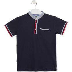 textil Dreng Polo-t-shirts m. korte ærmer Losan 013-1791AL Blå