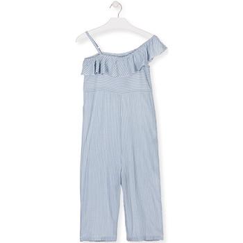textil Pige Buksedragter / Overalls Losan 014-7022AL Blå