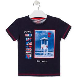 textil Børn T-shirts m. korte ærmer Losan 015-1001AL Blå