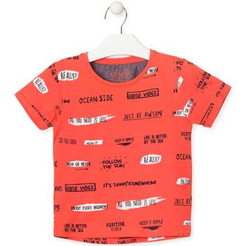 textil Børn T-shirts m. korte ærmer Losan 015-1003AL Orange