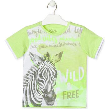 textil Børn T-shirts m. korte ærmer Losan 015-1011AL Grøn