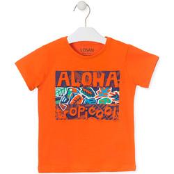 textil Børn T-shirts m. korte ærmer Losan 015-1025AL Orange