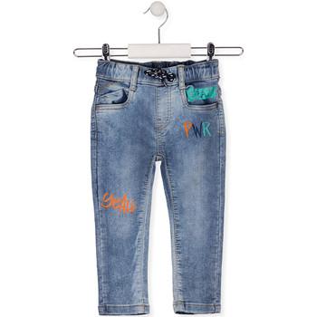 textil Børn Smalle jeans Losan 015-6022AL Blå