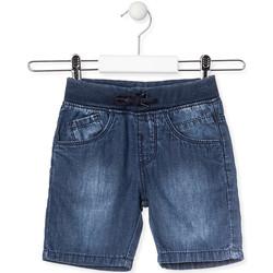 textil Børn Shorts Losan 015-9659AL Blå