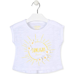 textil Pige T-shirts m. korte ærmer Losan 016-1006AL hvid