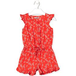 textil Pige Buksedragter / Overalls Losan 016-7029AL Rød