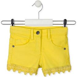 textil Børn Shorts Losan 016-9001AL Gul