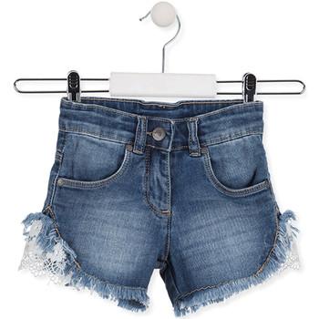 textil Børn Shorts Losan 016-9003AL Blå