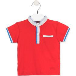 textil Børn Polo-t-shirts m. korte ærmer Losan 017-1791AL Rød
