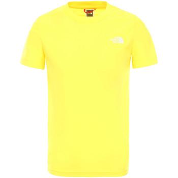 textil Børn T-shirts m. korte ærmer The North Face NF0A2WANDW91 Gul