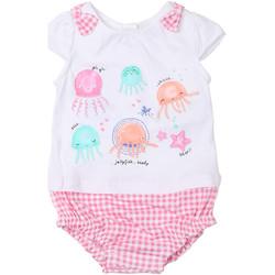 textil Pige Buksedragter / Overalls Chicco 09050812000000 hvid