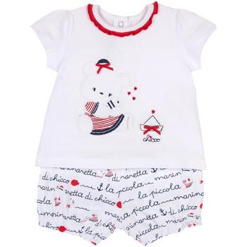 textil Pige Sæt Chicco 09076458000000 hvid