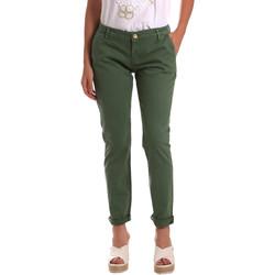 textil Dame Chinos / Gulerodsbukser Gaudi 811BD25009 Grøn
