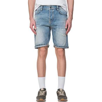 textil Herre Shorts Antony Morato MMDS00068 FA700115 Blå