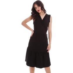 textil Dame Korte kjoler Gaudi 011BD15037 Sort