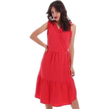 textil Dame Korte kjoler Gaudi 011BD15037 Rød