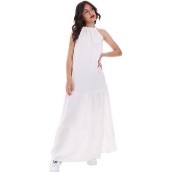 textil Dame Lange kjoler Gaudi 011FD15073 hvid