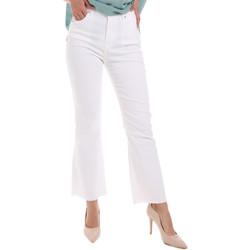 textil Dame Bootcut jeans Gaudi 011BD25017 hvid