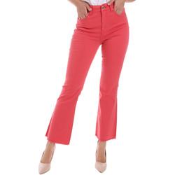 textil Dame Bootcut jeans Gaudi 011BD25017 Rød
