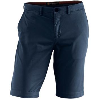 textil Herre Shorts Lumberjack CM80647 002 602 Blå