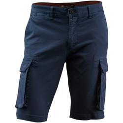 textil Herre Shorts Lumberjack CM80747 002 602 Blå