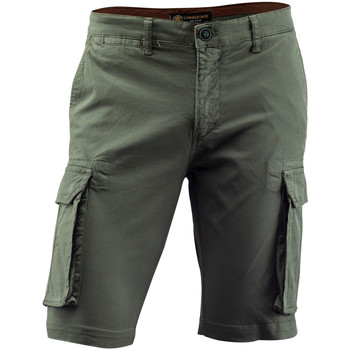 textil Herre Shorts Lumberjack CM80747 002 602 Grøn