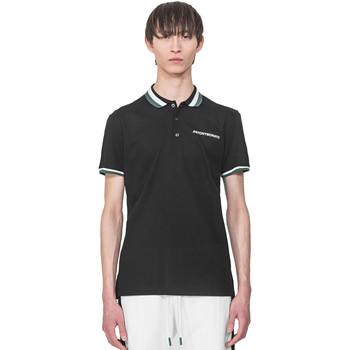 textil Herre Polo-t-shirts m. korte ærmer Antony Morato MMKS01713 FA100083 Sort