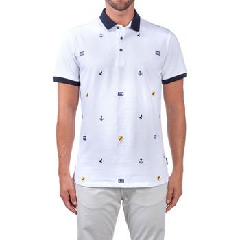 textil Herre Polo-t-shirts m. korte ærmer Navigare NV82120 hvid