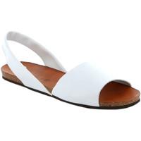 Sko Dame Sandaler Grunland SB1623 hvid