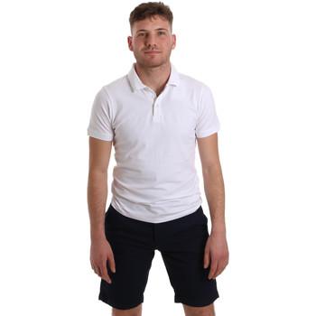 textil Herre Polo-t-shirts m. korte ærmer Sseinse ME1517SS hvid